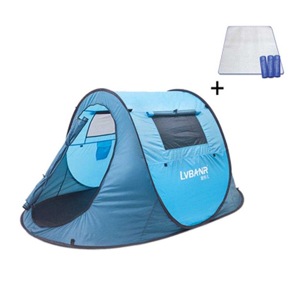 Jiangu, Outdoor Zelt, Vollautomatische Outdoor Zelt, Camping Zelt, regendicht fahren, schnelle Öffnung Zelt