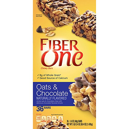 Fiber One Oats & Chocolate Chewy Bars (36 ct.) (One Oats Fiber)