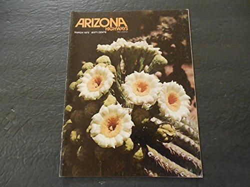 Saguaro Glass (Arizona Highways Mar 1973 Arizona's State Flower The Saguaro)