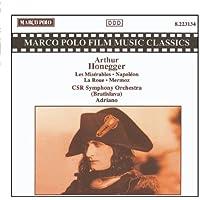 HONEGGER: Miserable (Les) / Napoleon / Mermoz