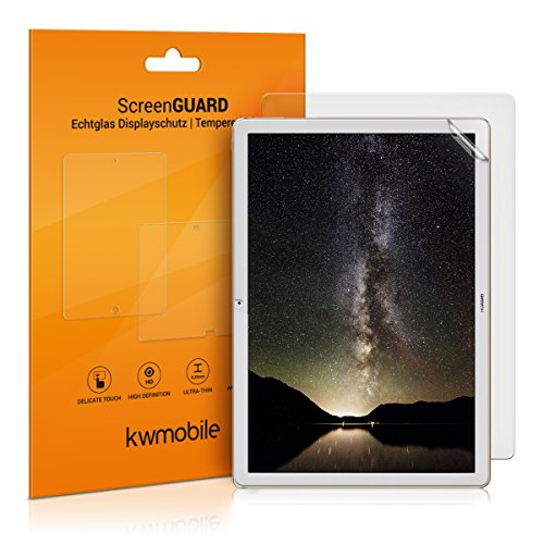 kwmobile 2X Screen Protector for Huawei MateBook - Anti-Scratch, Anti-Fingerprint, Matte Display Film for Tablet - Set of 2