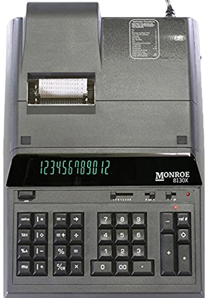 Monroe PRO Ultimate Calculator Ribbon Black//Red 2 Pack Replaces P51S