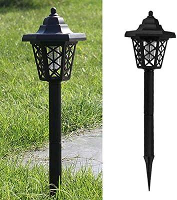 DO-MF Hexagonal Solar lámpara de Mosquito Hogar Exterior Trampa para Mosquitos Impermeable Jardín jardín Repelente de Mosquitos lámpara de Insectos Paisaje lámpara de césped: Amazon.es: Jardín