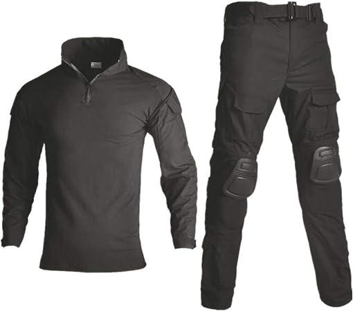 ACHICOO Camiseta o pantalones militares para hombre, diseño ...