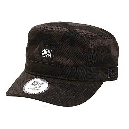 ニューエラ ゴルフライン 帽子 GOLF WM01 ADJ BLKWCAMO ワークキャップ ブラックカモ フリー
