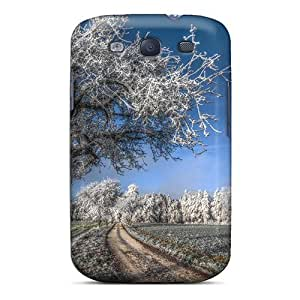 EvquVfD1447Lfxvr Frosted Country Road Hdr Fashion Tpu S3 Case Cover For Galaxy