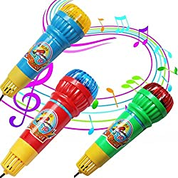 GreatFun Echo Microphone Mic Voice Changer Toy Gift Birthday Present for Party Game