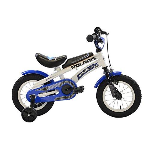 "Polaris LX120 Kids Edge Bike, 12"", Blue/White"