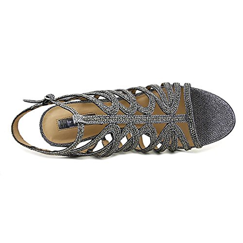 INC International Concepts - Sandalias de vestir para mujer Pewter