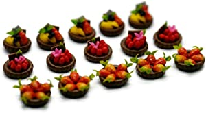 15 Mix Chocolate Cup Cake Dollhouse Miniatures Food Kitchen No 3 by Cool Price