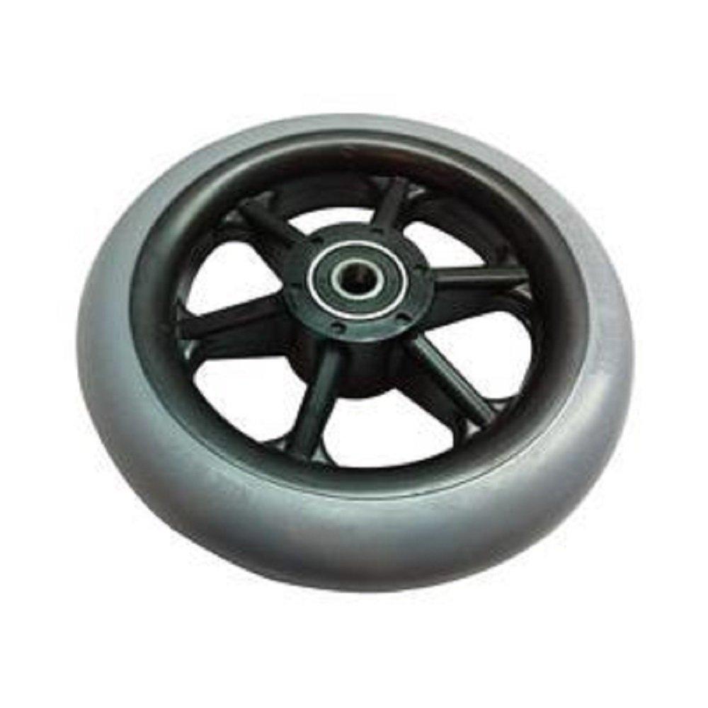 Invacare Corporation Composite Caster Wheel Tire, 8'' x 1-1/4'' Wheel, Urethane