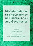 6th International Finance Conference on Financial Crisis and Governance, Mondher Bellalah, 1443833088
