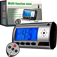 Spy Digital Alarm Clock DVR with Motion Detector w/ 4GB (72-5980) -