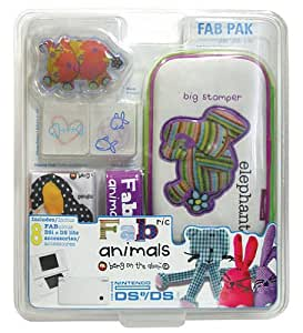 Mad Catz DS Lite/DSi Official FABric Animals Pack Elephant Design (Nintendo DS) [Importación inglesa]
