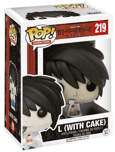 Funko POP Vinyl - Death Note - L with Cake