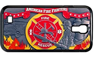 Fashion HD Picture Firefighter Samsung Galxy S4 I9500/I9502 Fire Department logo Fireman