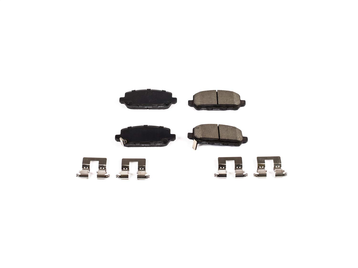 Z17 Rear Ceramic Brake Pads with Hardware Power Stop 17-1841