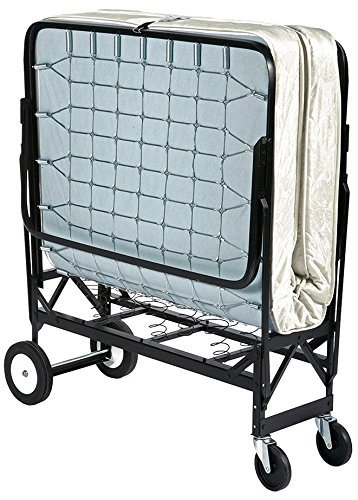 """39"""" Wide Hospitality Rollaway Bed w/ 6"""" Tufted Premium Innerspring Mattress"""