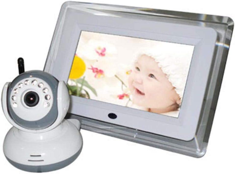 SPFPEN 2.4 GHzデジタルワイヤレスベビーモニター7インチ液晶ディスプレイビデオ2ウェイトークカメラ防犯カメラシステム4チャンネル