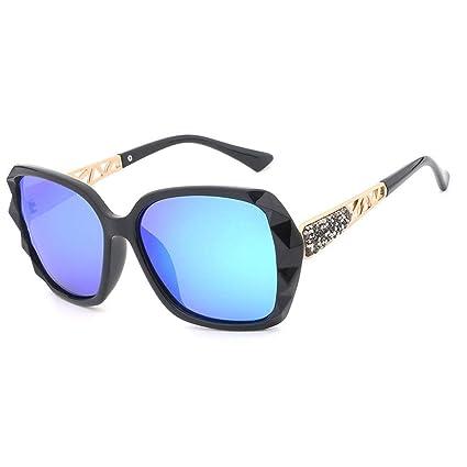 Gafas sol polarizadas del Marco Grande de la Mujer Gafas Deportivas al Aire Libre de la