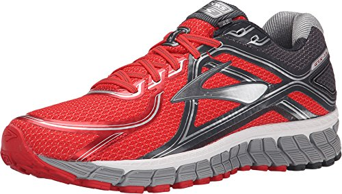 Brooks Men's Adrenaline GTS 16 High Risk Red/Anthracite/Silver