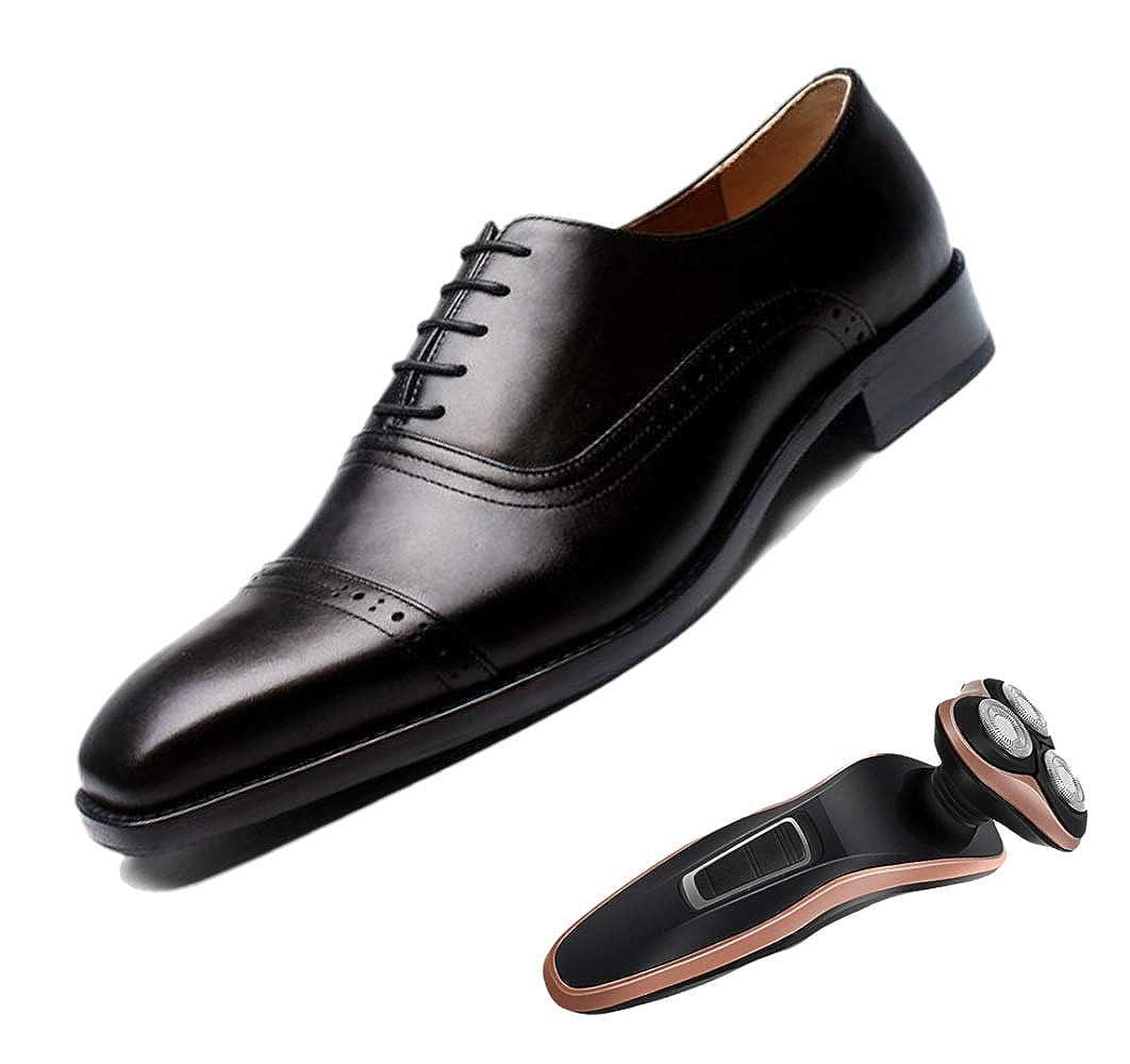 Negro zapatos De Brock Tallados Hechos A Mano zapatos De Negocios para hombres Fiesta Inglaterra Puntiagudos azul marrón negro