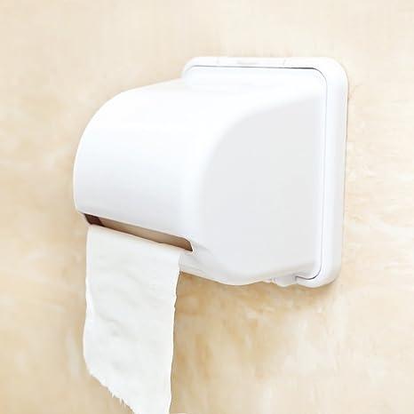 YJH+ Súper Copa de succión rollos de papel higiénico del tocador de toallas de papel higiénico