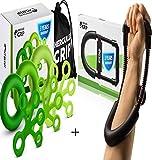HerculesGrip Hand Grip Strengthener Workout Kit - Fingers - Best Reviews Guide