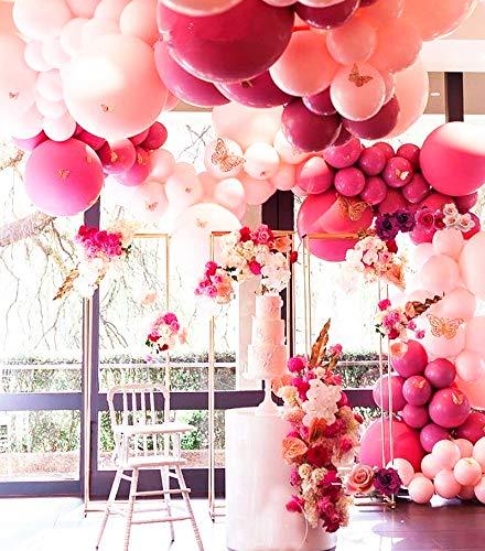 Pastel Pink Balloons Arch Garland Kit 103 Light