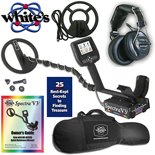Whites-Spectra-V3i-Metal-Detector-with-Headphones-10-DD-9-Concentric-Coil-and-Gun-Style-Carry-Bag