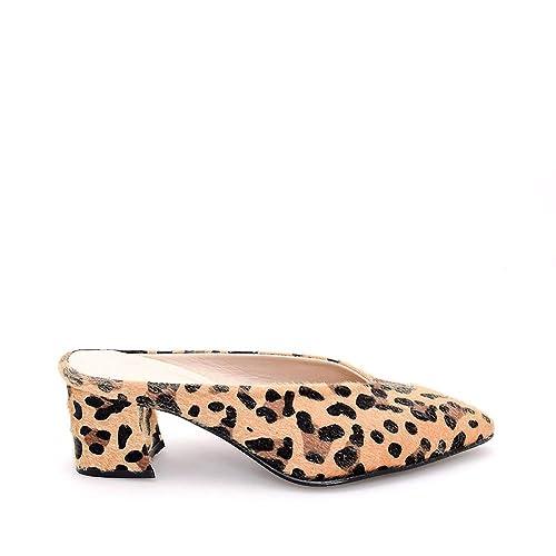 Leopard Patterned Low Heel