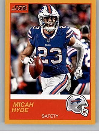 super popular 2385e 140aa Amazon.com: 2019 Score Gold Football #131 Micah Hyde Buffalo ...