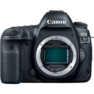 Canon EOS 5D Mark IV Full Frame Digital SLR (Body Only) with 19pc Professional Bundle: Bundle Includes - Professional Battery Grip + SanDisk Extreme Pro 128gb SD Card (2 Count) + Much More