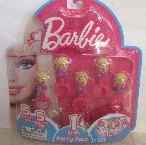 Squinkies: Barbie Party Pack