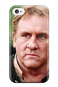 iPhone 6 4.7 Case Cover - Slim Fit Tpu Protector Shock Absorbent Case (gerard Depardieu )