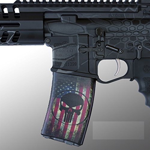 ultimate-arms-gear-3-pack-of-ar-mag-cover-socs-for-30-40rd-polymer-pmag-mags-the-end-is-nigh-punishe