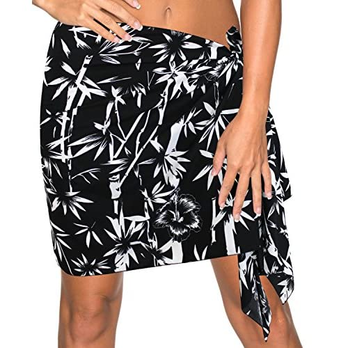 88a1a8481f17a 60%OFF Mini/Half Sarong Bikini Cover up Wrap Aloha Swimsuit Swim Beachwear  Dress