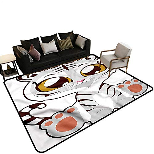 Kawaii,Floor Mats Modern Kitchen Rug 64