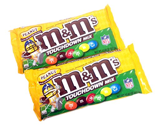 M&M's Peanut Touchdown Mix 12.6 oz (Pack of 2)