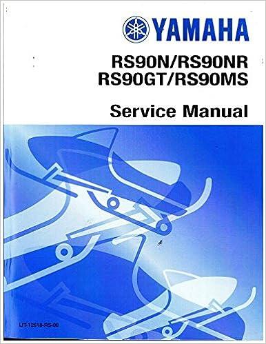 Book LIT-12618-RS-00 2007 Nytro Yamaha RS90NW Snowmobile Service Manual
