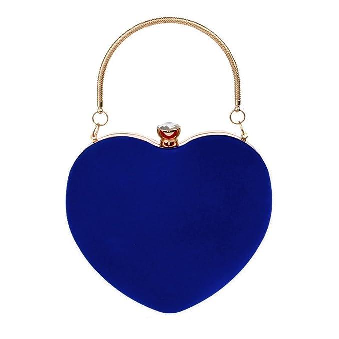 AiSi - Cartera de mano para mujer azul azul Talla única: Amazon.es: Ropa y accesorios