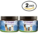Zenapet Dog Immune Support-Immune Booster Dogs-Safeguard Your Dog's Immune System-Premier Supplement Dogs-Natural Vitamins Dogs in Food Form Antioxidant Support (70 Grams, 2 Pack) Review