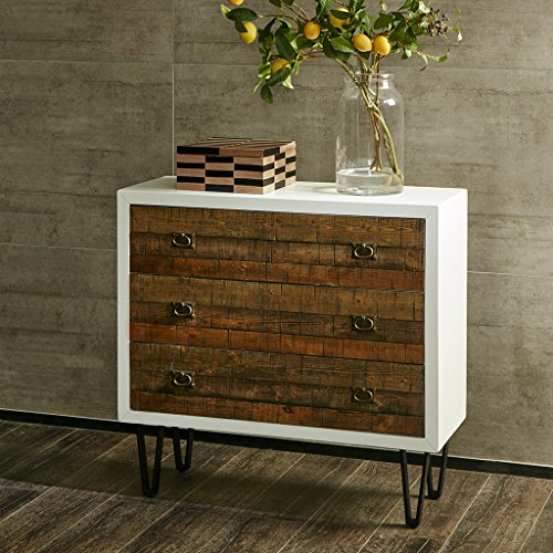 Quinn 3 Drawer Chest Chestnut See below