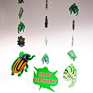 Birthday Bugs Hanging Cutouts