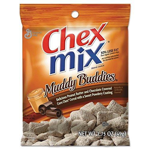General Mills SN37301 Chex Mix Muddy Buddies 4.5oz Bag 7 Bags/Pack