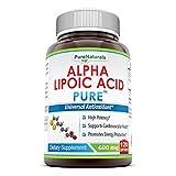 Best Alpha Lipoic Acids - Pure Naturals Alpha Lipoic Acid 600 Mg Capsules Review