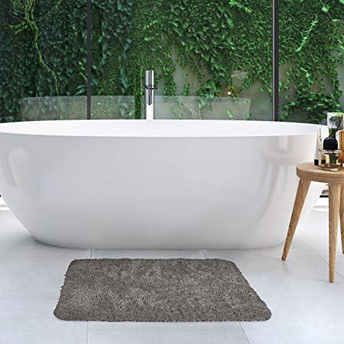 Beautissu Beaumare Fl Badmat Antislip Hoogpolig Pluizige Badmat Voor De Douche Het Toilet Of De Badkuip Geschikt Voor Gebruik Met Vloerverwarming Amazon Nl