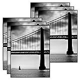 MCS 9x12 Inch Format Frame 6-Pack, Black