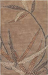 Surya Smithsonian by Heritage HTG-1004 Transitional Hand Knotted 100% Semi-Worsted New Zealand Wool Rug