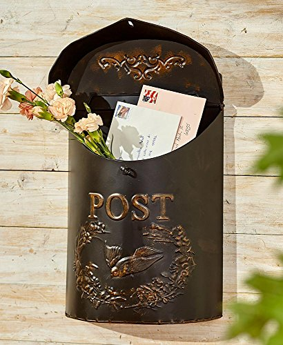 The Lakeside Collection Decorative Metal Post Box ()